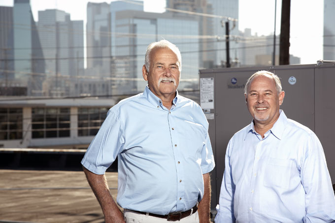Jerry Fine & Robert Baker, Owners of Perry HVAC